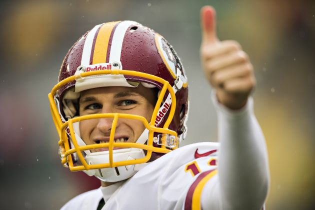 Washington Redskins name Kirk Cousins the starter over RG3