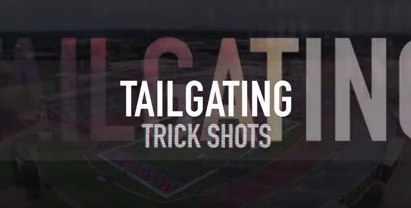 Dude Perfect returns with awesome tailgate trick shots