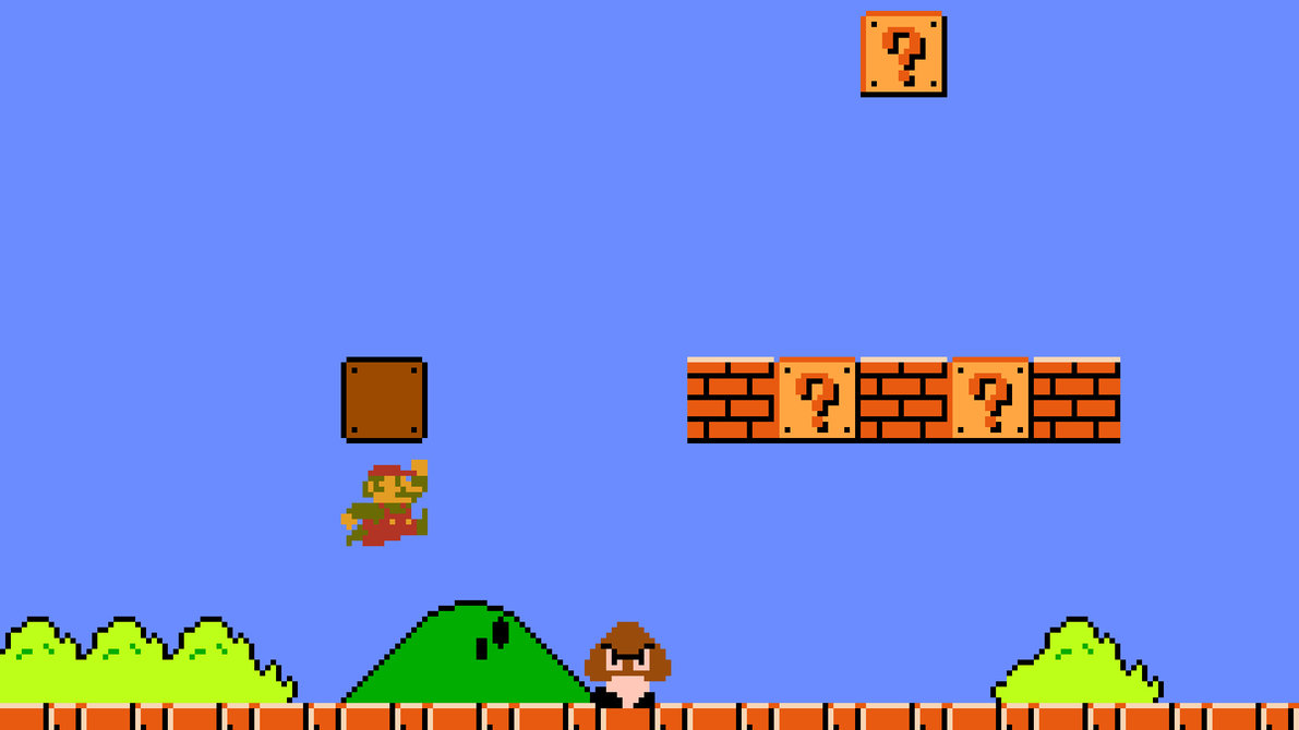 Nintendo's Shigeru Miyamoto talks about Mario Bros. Level 1-1