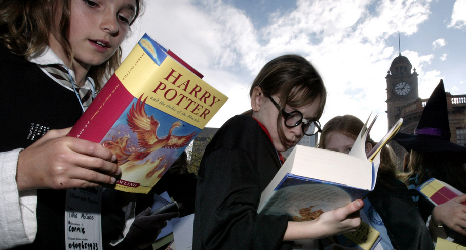 The Harry Potter Generation: Reading then vs. now