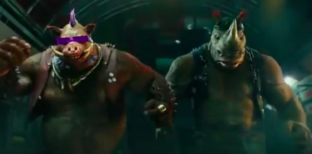 Watch Beebop, Rocksteady and Casey Jones in new Teenage Mutant Ninja Turtles 2 Trailer