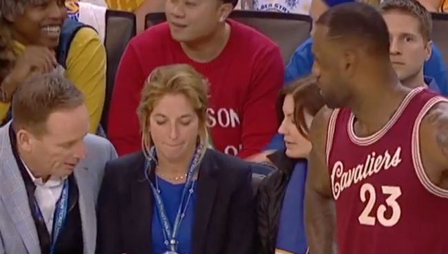 If you're gonna call LeBron James a crybaby, at least own it
