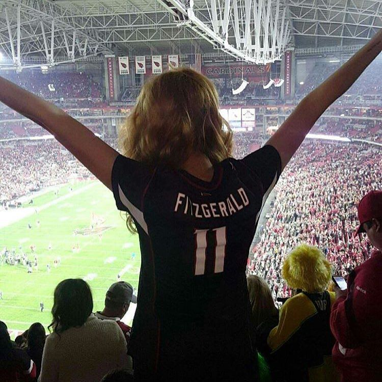 Larry Fitzgerald proved again last night why he's such a stud