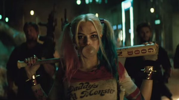 Harley Quinn looks fantastic in the first Suicide Squad trailer