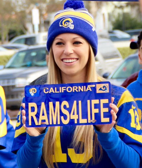 This Rams fan in LA feels bittersweet about team's move