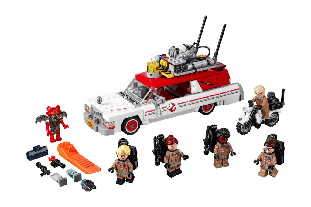 Looks like we'll get an all-female Ghostbusters LEGO set