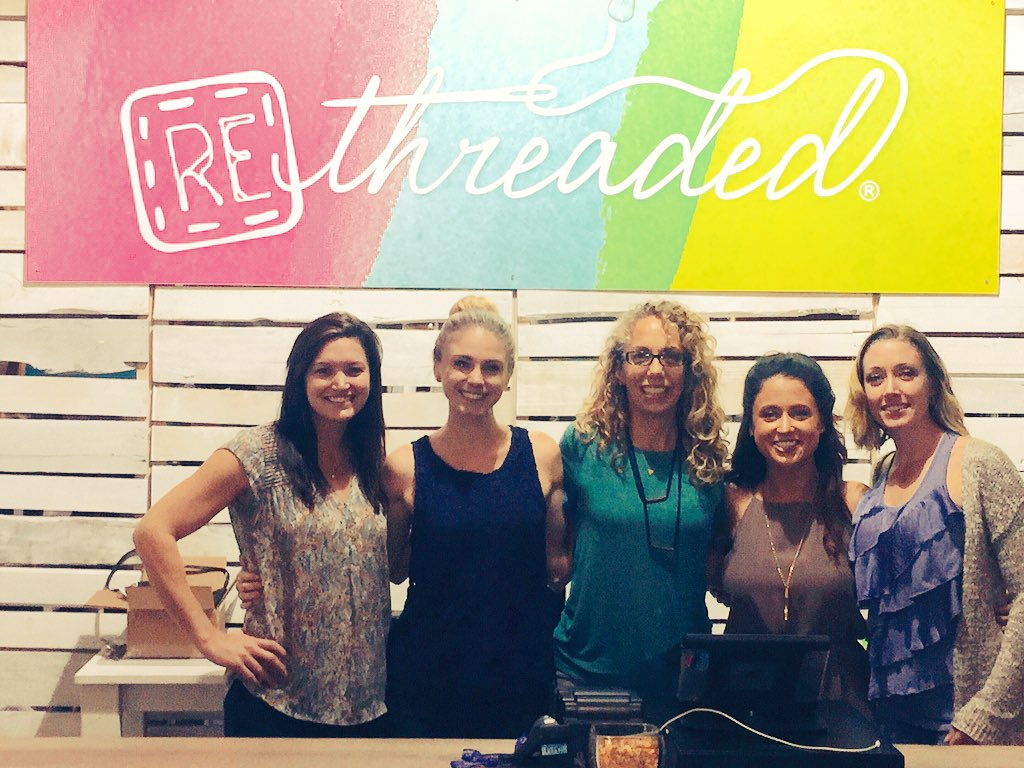 Helmets and Heels talk Super Bowl and Rethreaded visit