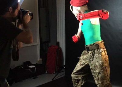 Male Cammy cosplay