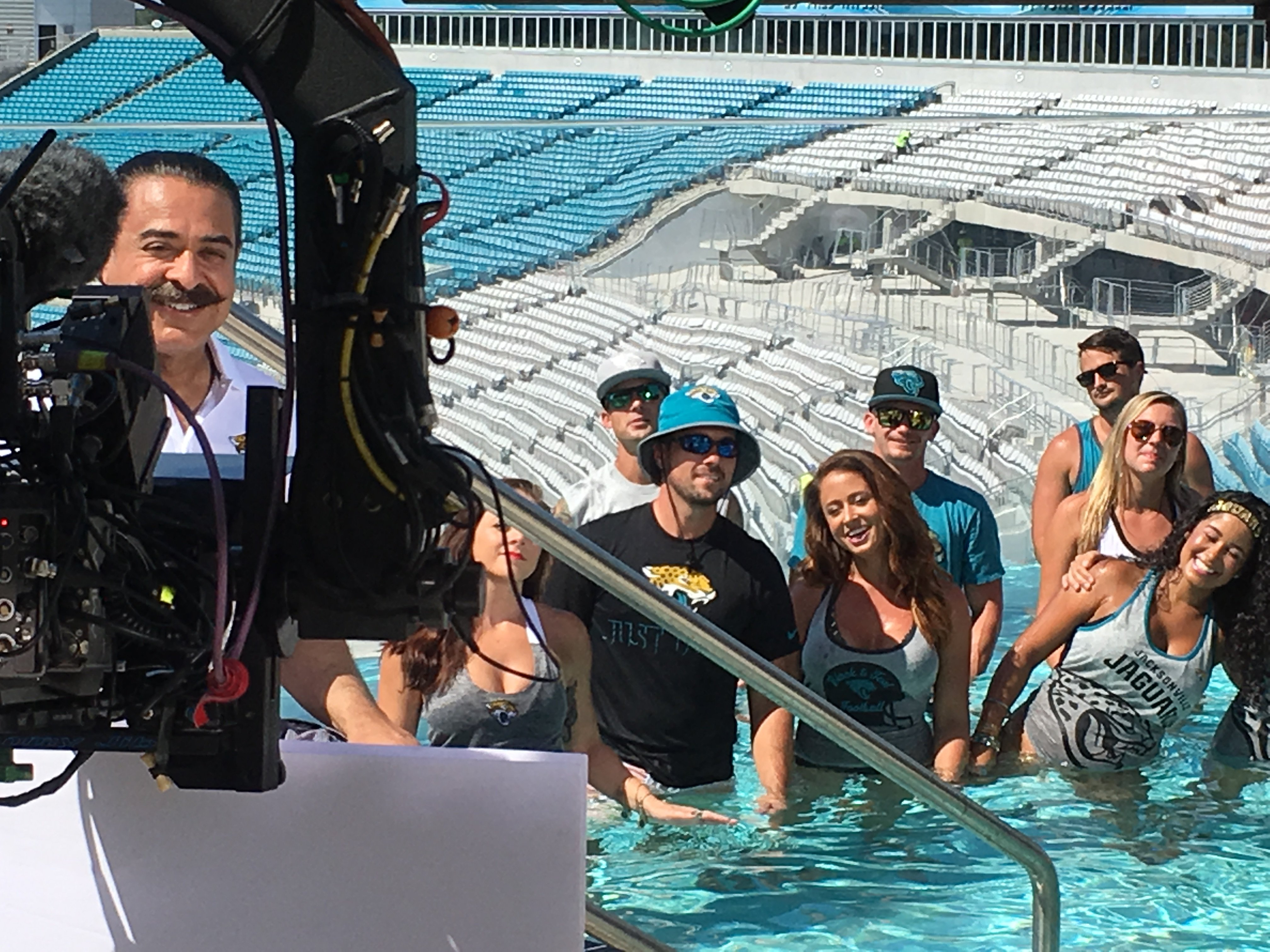 My cameo in the NFL's 'Home Sweet Home' commercial with Shad Khan