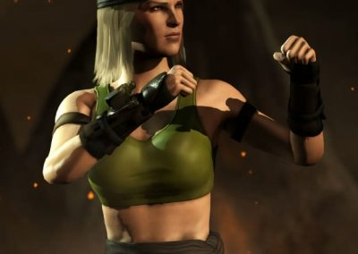 Sonya Blade Cosplay From Mortal Kombat For Gaam