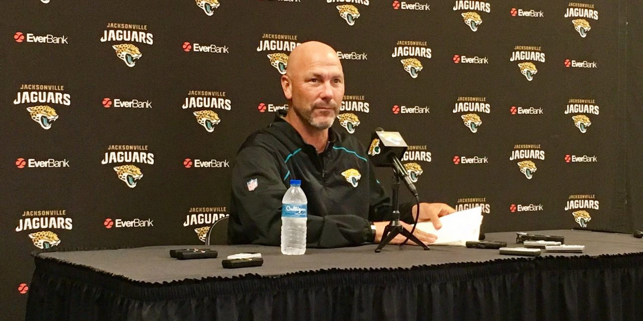 Gus Bradley Might Be First Coach Fired this Season if Jags Lose on Sunday