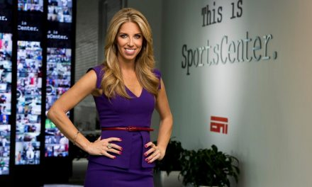 ESPN's Sara Walsh talks about career in sports, no makeup in airports and her husband's bromance