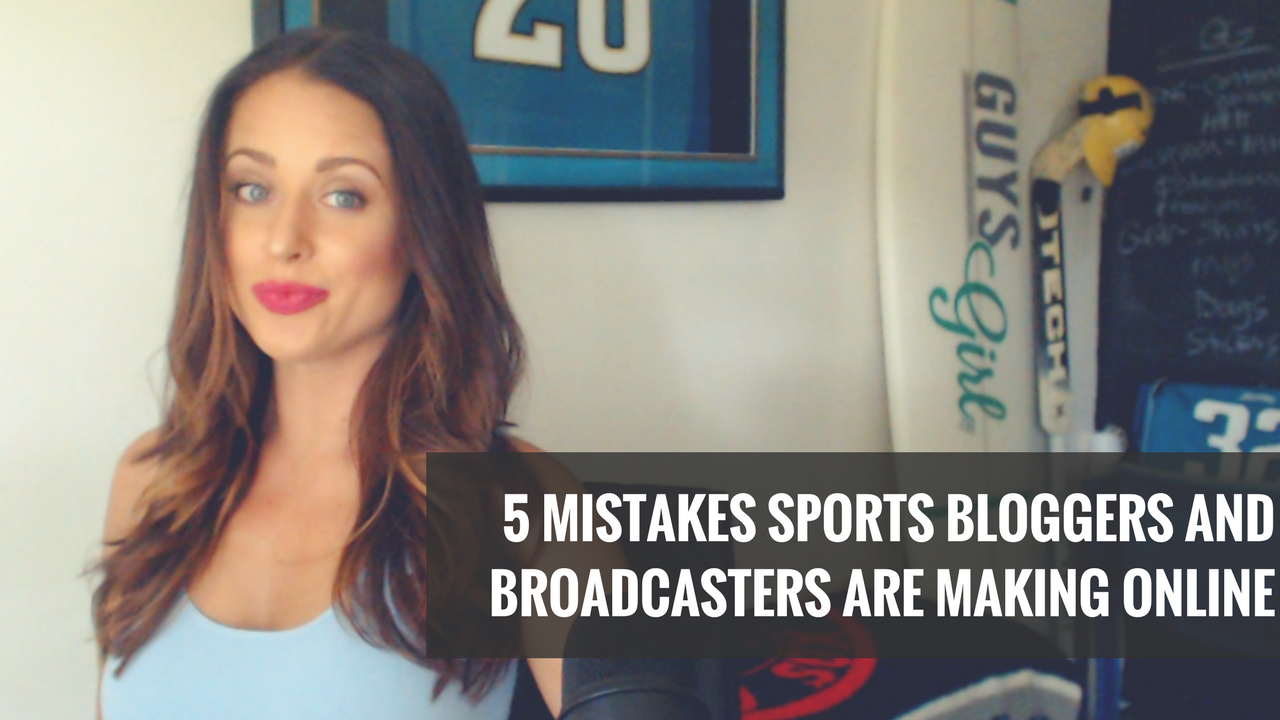 5 Biggest Mistakes Bloggers and Broadcasters Make Online