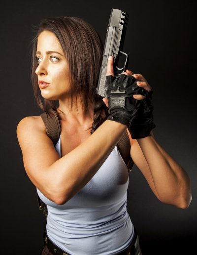 lara croft cosplay