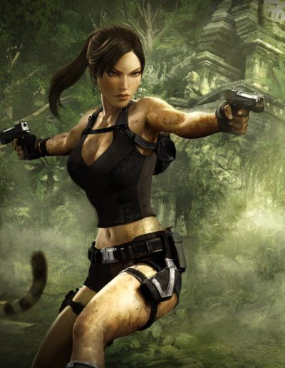lara croft pose inspiration
