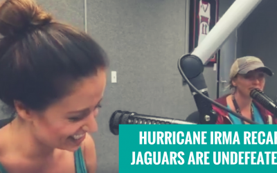 HURRICANE IRMA AFTERMATH AND YOUR UNDEFEATED JAGUARS ON 'HELMETS AND HEELS'