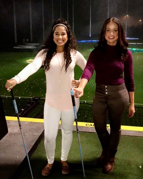 Top Golf with your girls
