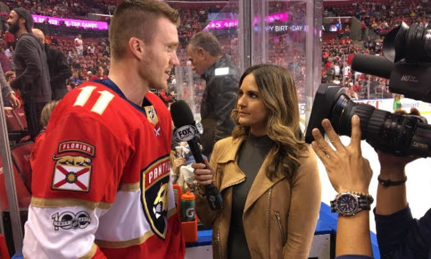 Jessica Blaylock: Interview with Miami Marlins and Florida Panthers Sideline Reporter